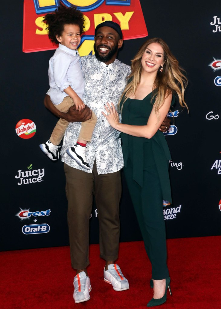 How Stephen 'tWitch' Boss Is Doting On Pregnant Wife Allison Holker Ahead of Baby No. 3 'Hand and Foot'-2