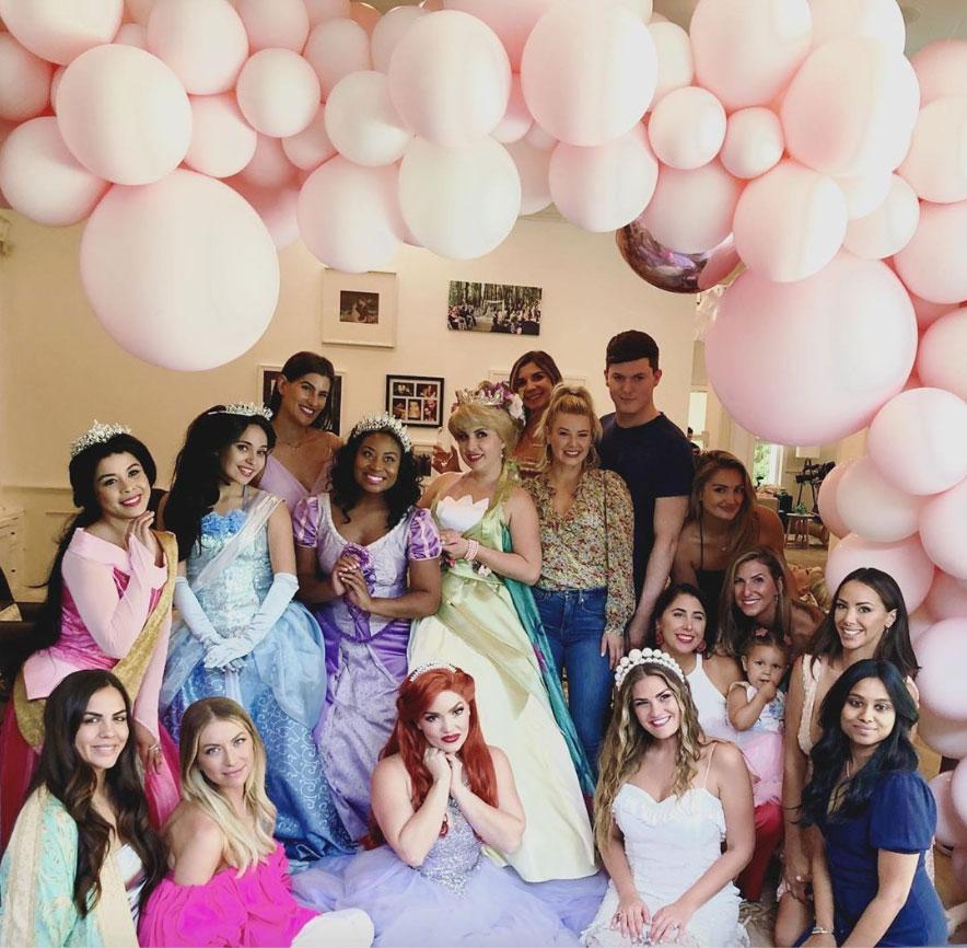 Inside Brittany Cartwright's Disney Princess-Themed Bridal Shower