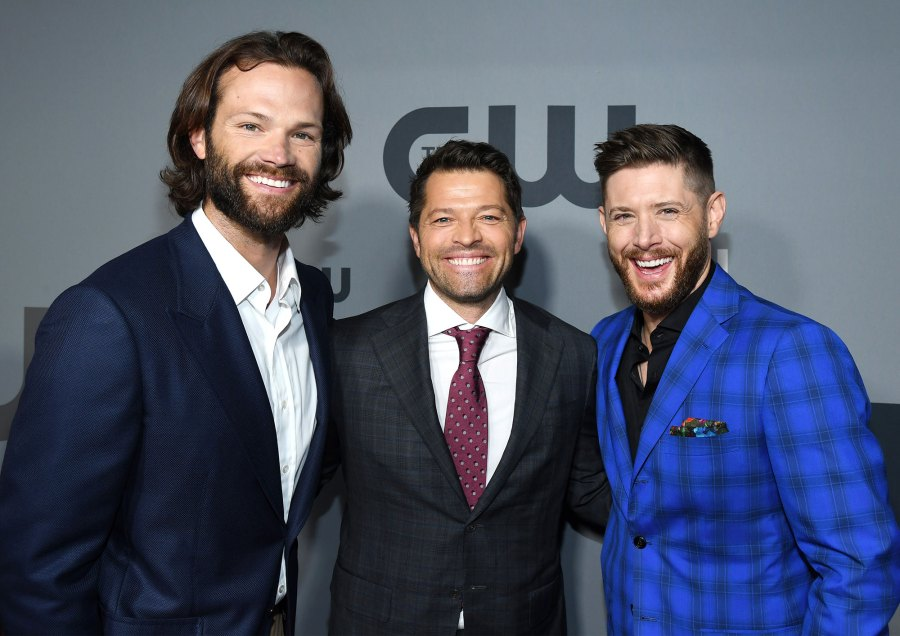 Jared Padalecki, Misha Collins, and Jensen Ackles Smile At The CW Network 2019 Upfronts