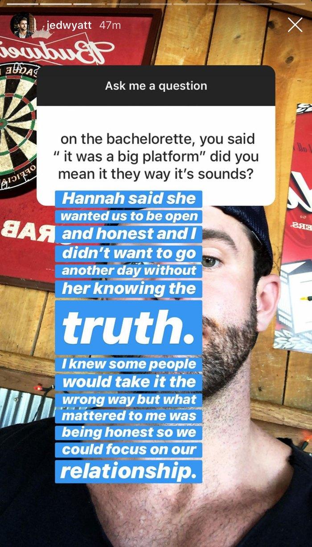Jed Wyatt Bachelorette Joined Show Help Music Career