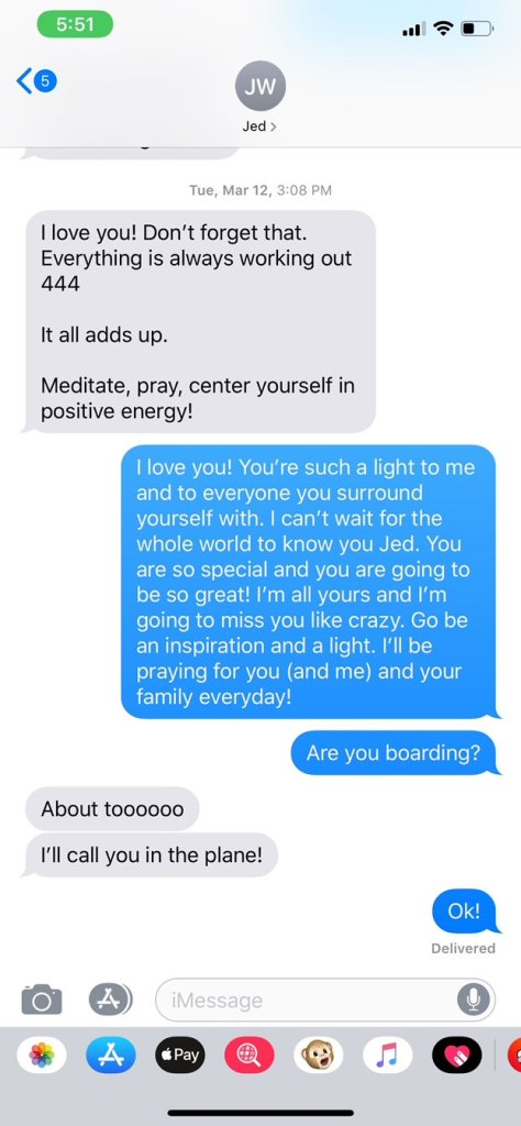 Jed Wyatt Text Message To Haley Stevens