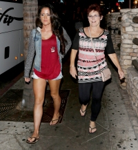 Jenelle-Evans-Barbara-argue-outside-custody-hearing