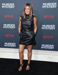 Jennifer Aniston Body Gallery Murder Mystery Red Carpet