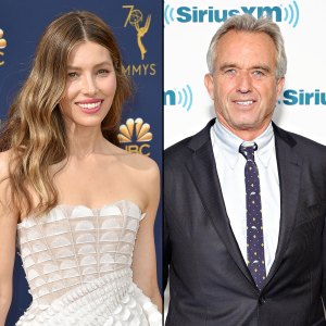 Jessica Biel Poses With Robert F. Kennedy Jr Anti-Vaxxer