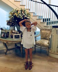 Jessica Simpson and Eric's Johnson's Sweetest Moments With Their Kids Maxwell first grade June 2019