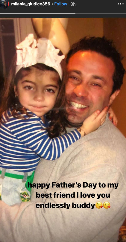 Joe Giudice's Daughters Pay Tribute to Him on Father's Day As He Remains in ICE Custody
