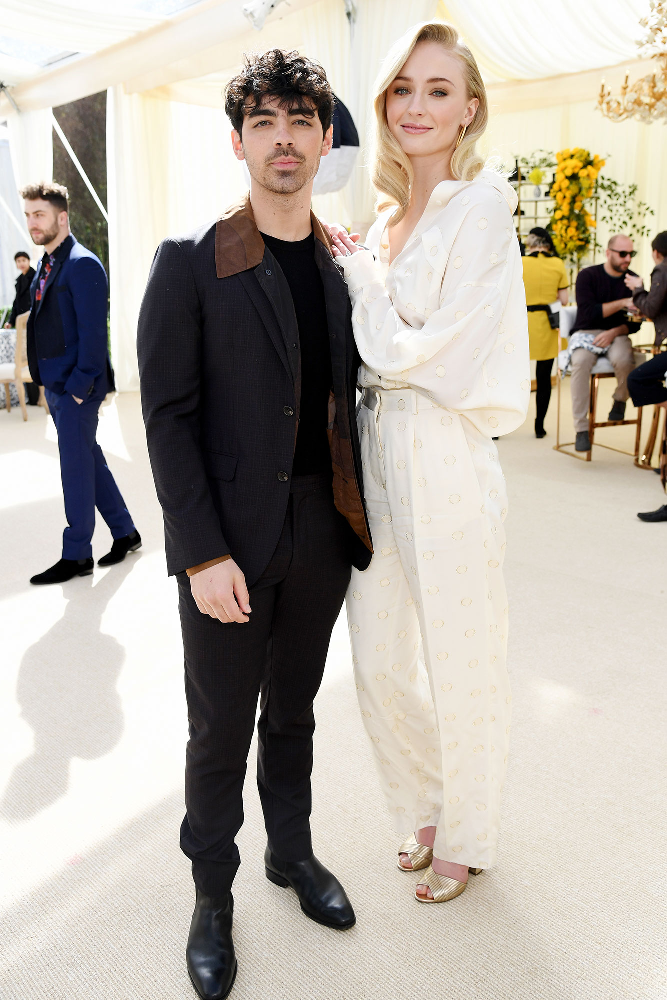 Ashley Graham Wedding.Celebrities Attend Joe Jonas Sophie Turner Pre Wedding