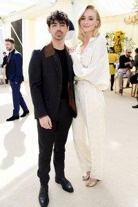 Joe Jonas and Sophie Turner White Dinner Jonas and Turner Wedding