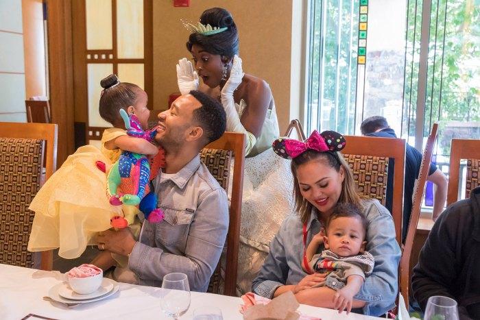 John Legend Says Chrissy Teigen Gets Mom-Shamed