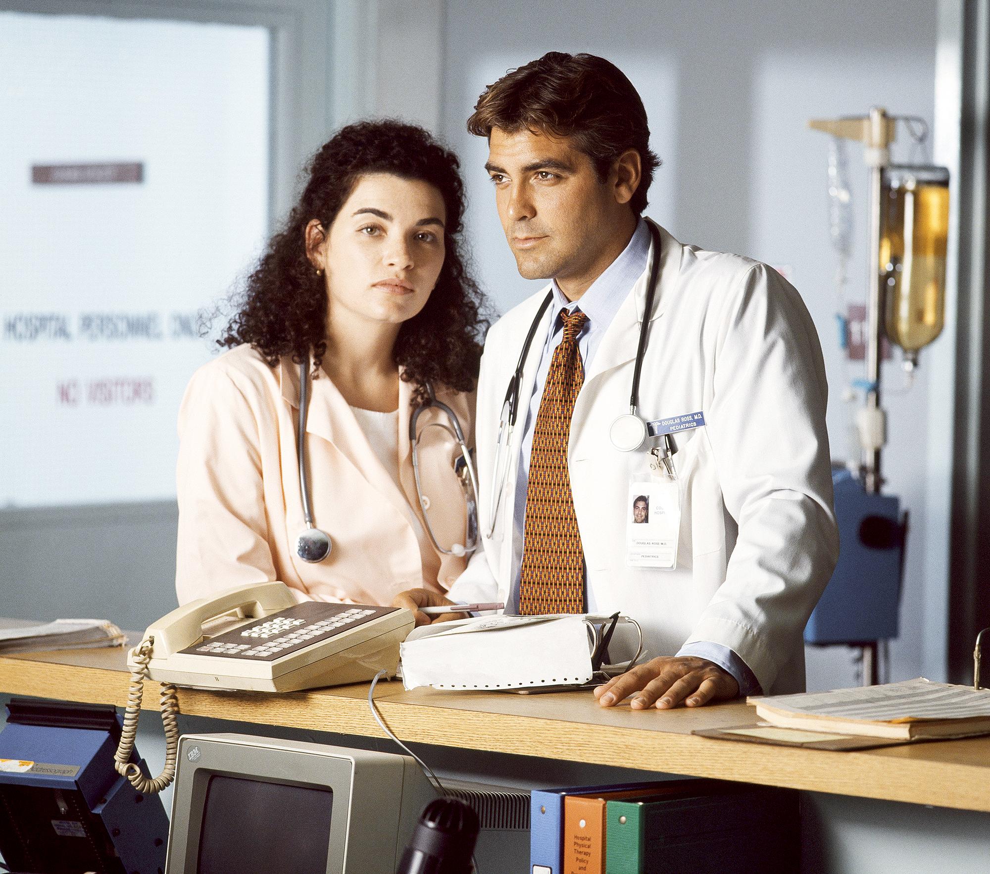 Julianna-Margulies-ER-Reunion-George-Clooney