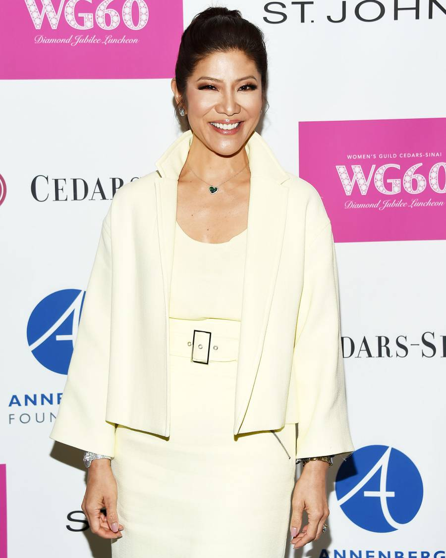 Julie Chen in a White Suit at the Women's Guild Cedars-Sinai's Diamond Jubilee Luncheon Big Brother Season 21 Cast Revealed