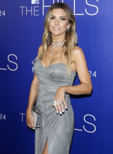 "Audrina Patridge at Premiere Of MTV's ""The Hills: New Beginnings"" Silver Dress"