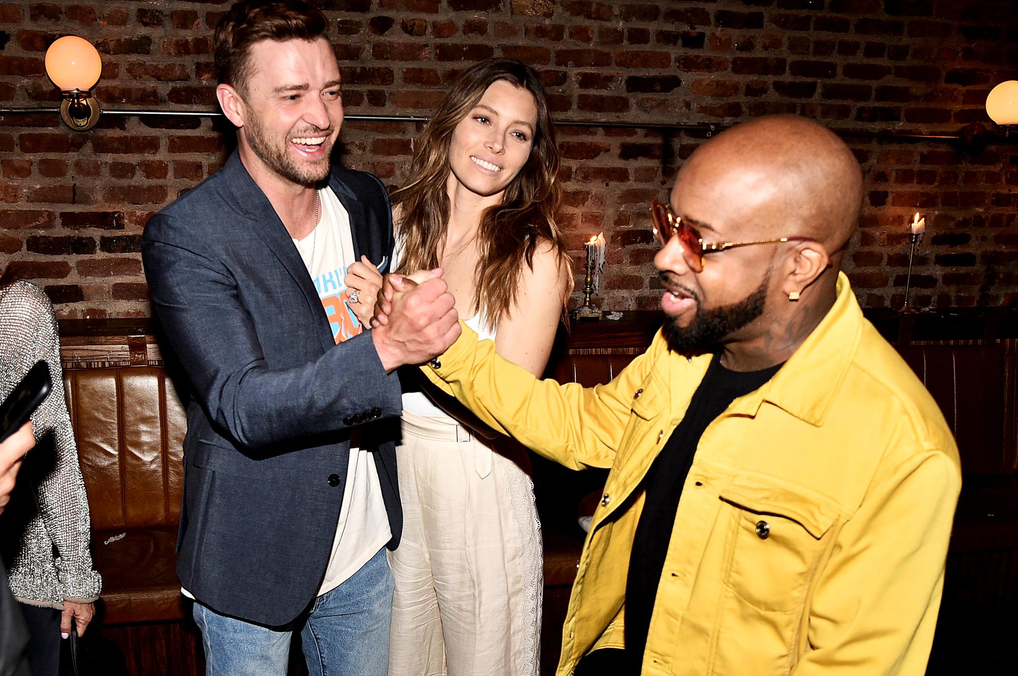 Justin-Timberlake,-Jessica-Biel-and-Jermaine-Dupri