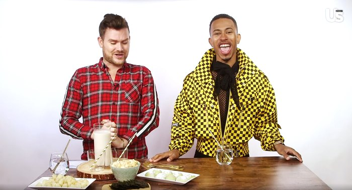 Kalen Allen Tastes Mochi, More in We Tried It US Weekly