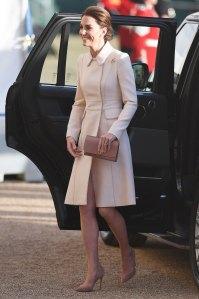 Kate Middleton Cream Coat June 6th