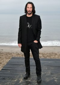 Keanu Reeves Saint Laurent Mens Show