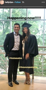 Kelly Ripa Mark Consuelos Daughter Lola Graduates High School