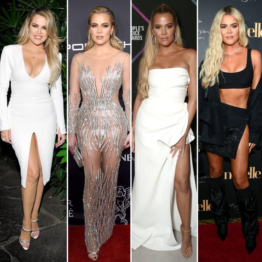 Khloe Kardashian From 2015 Through 2019 Four Years Split
