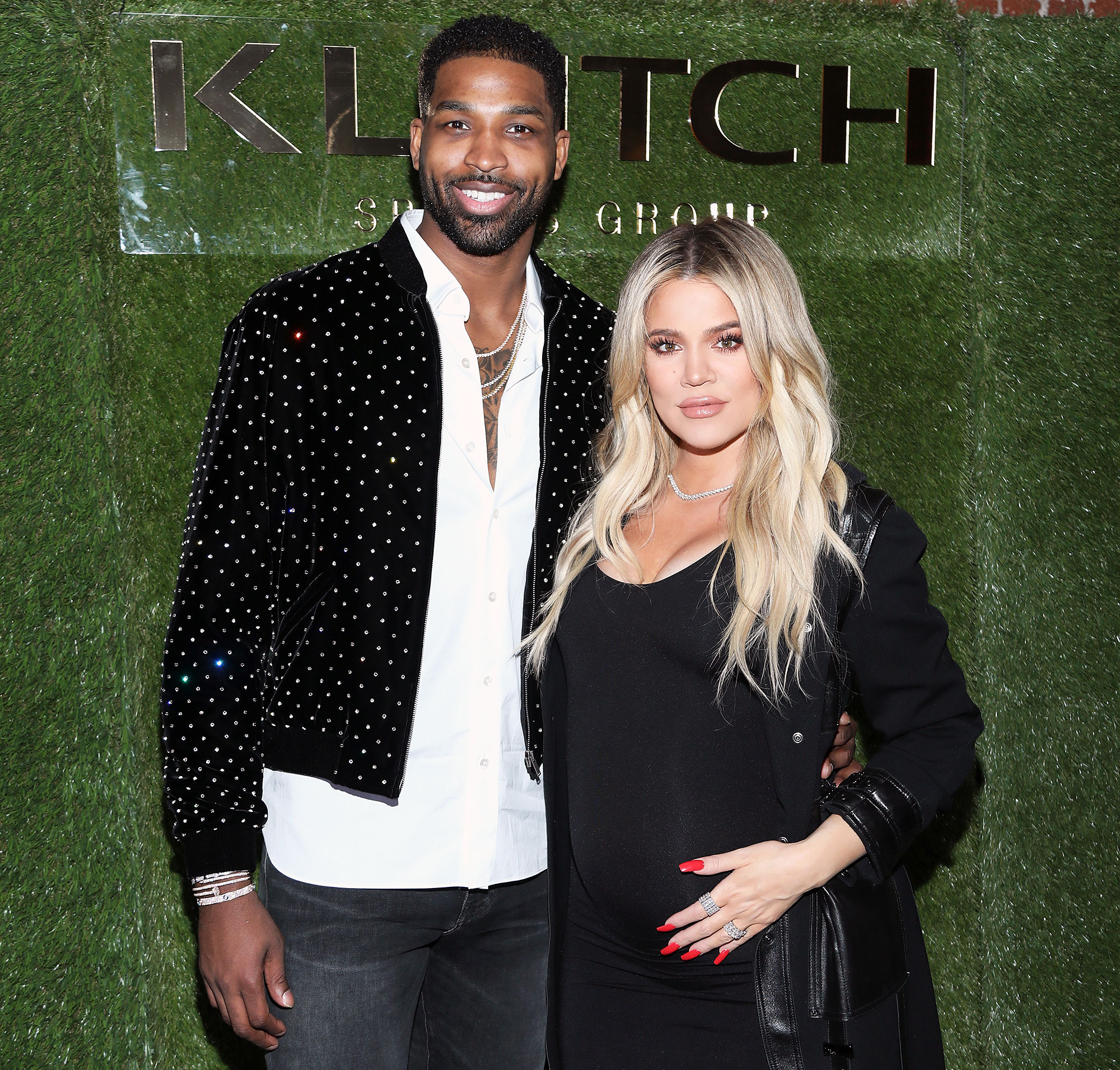 Tristan Thompson and Pregnant Khloe Kardashian at an Event Not Live-Tweeting KUWTK Episode with Tristan Thompson Scandal