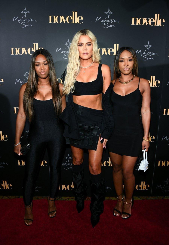 Khloe Kardashian Parties With Malika and Khadija Ahead of 'Birthday Week' Mohegan Sun Novelle