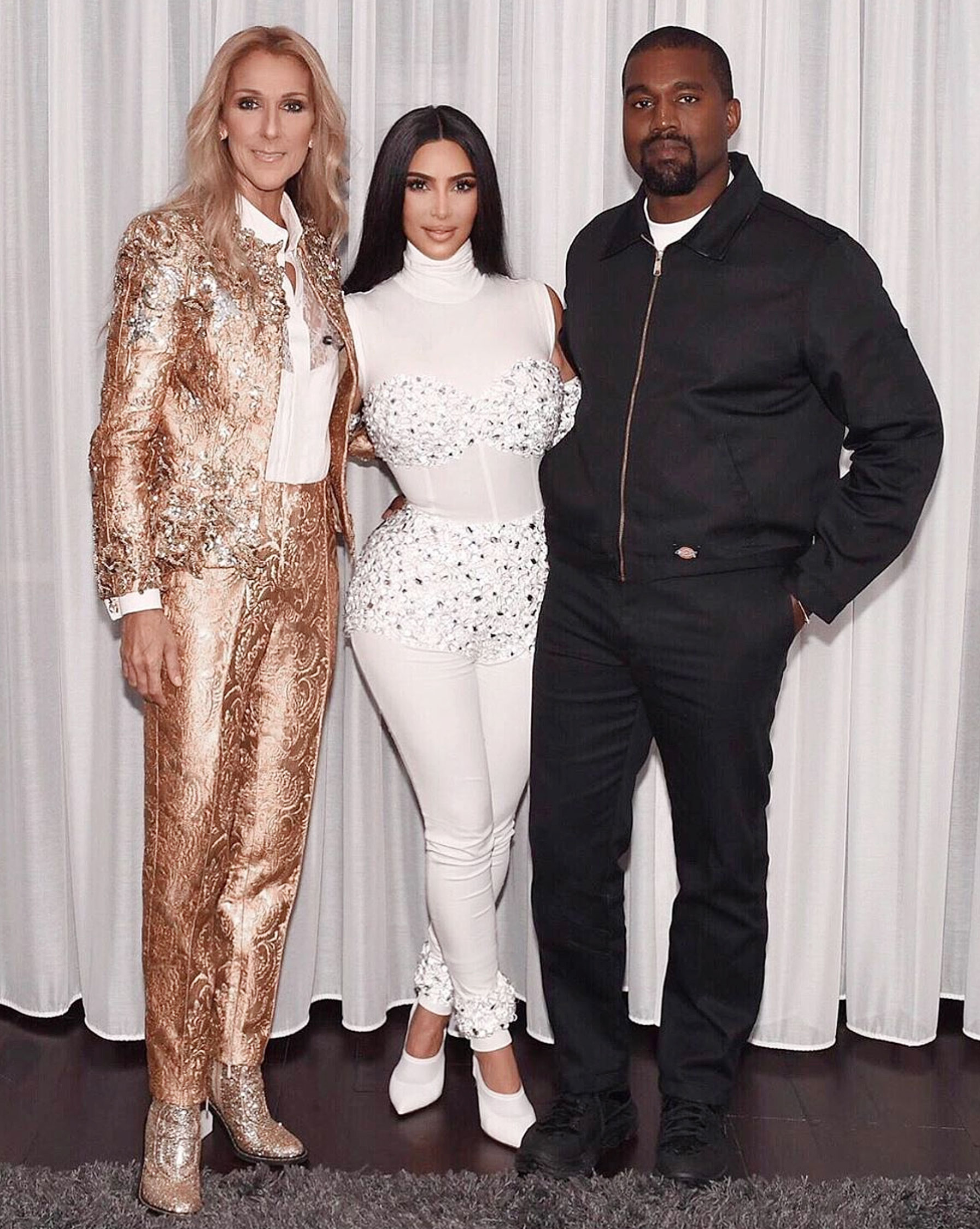 6ef5f54f354 North West Helps Style Kim Kardashian for Kanye Anniversary