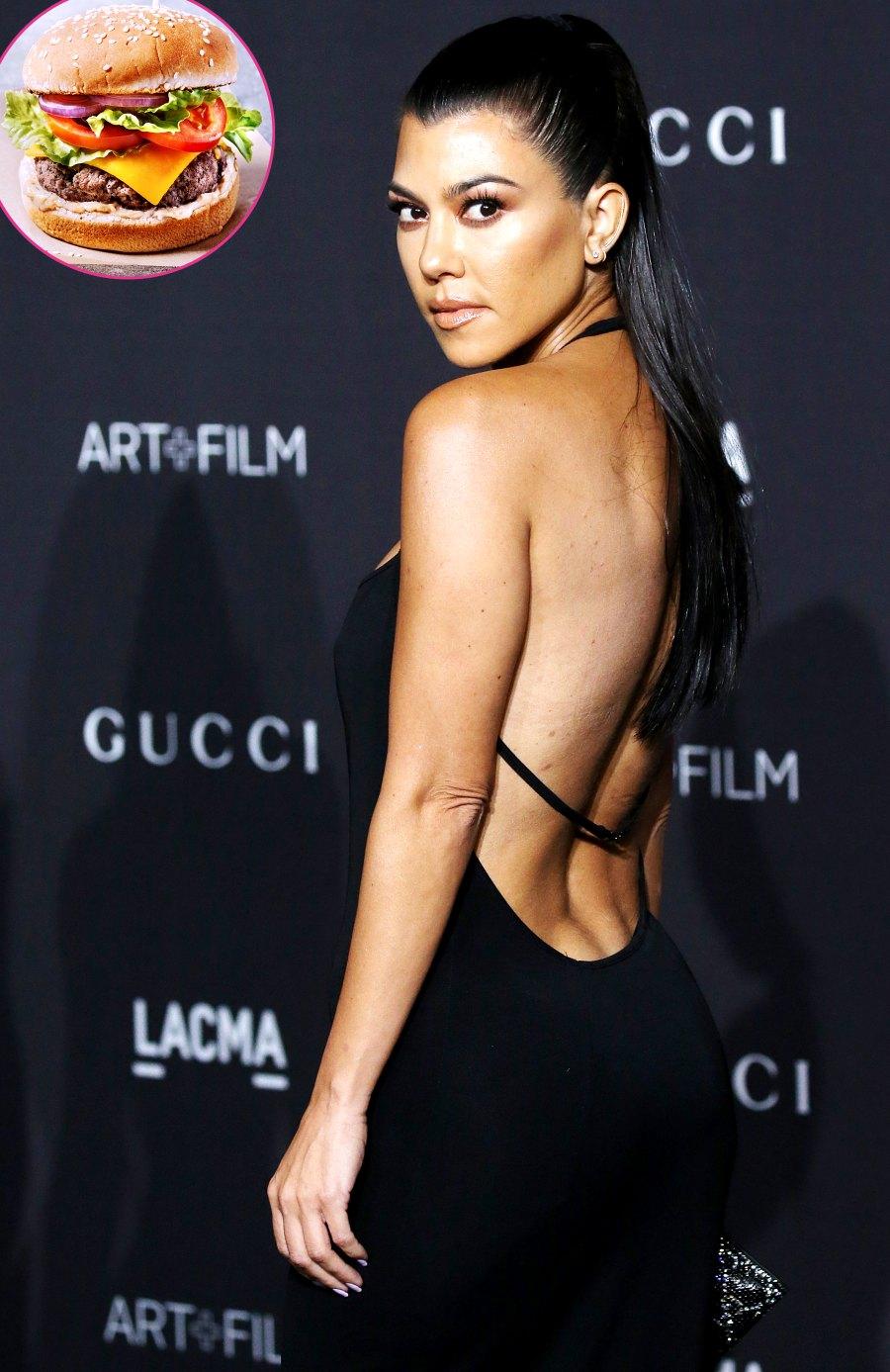 Kourtney Kardashian Pregnancy Cravings