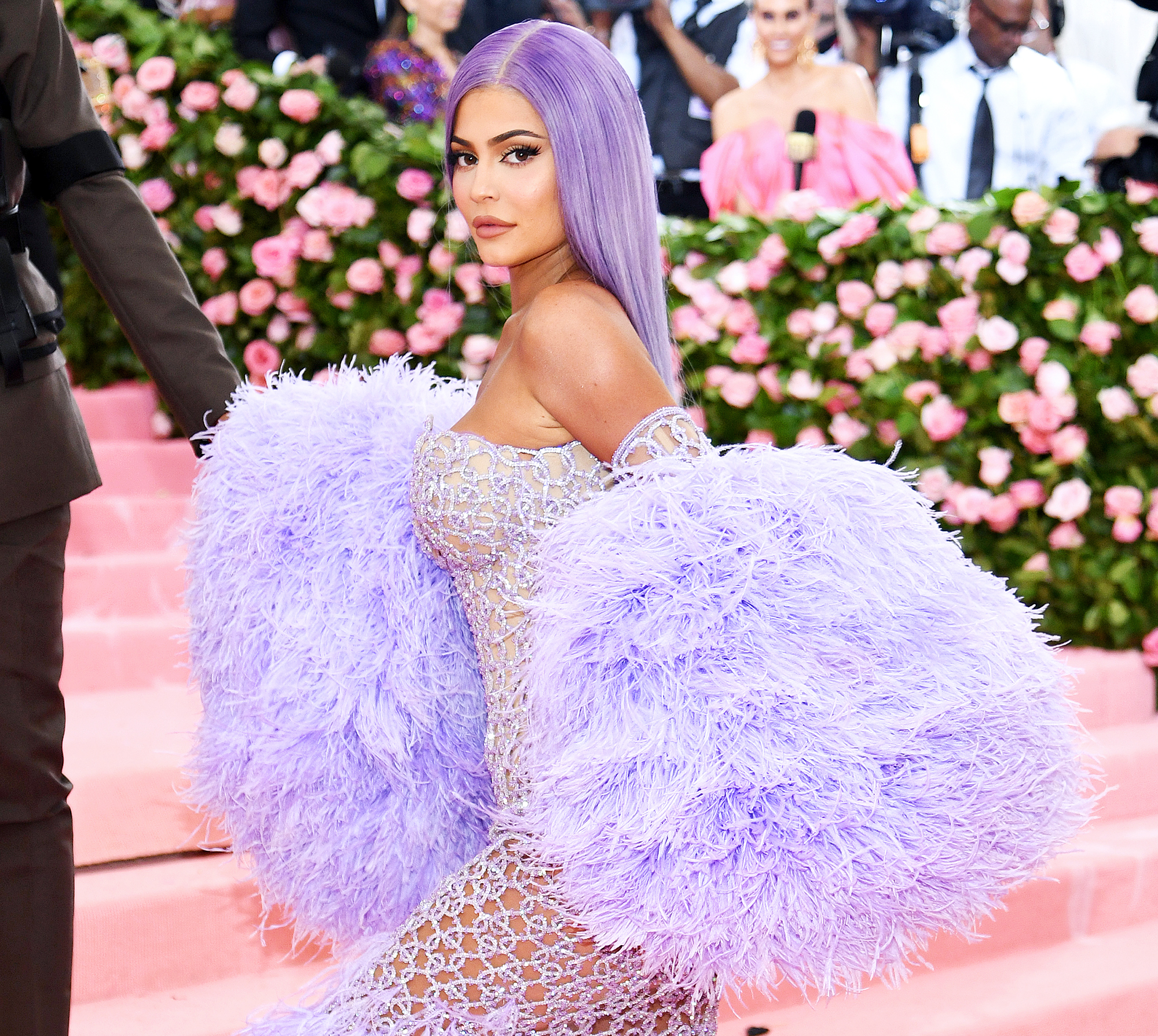 Kylie Jenner attends The Met Gala Celebrating Camp Fans Think Pregnancy Announcement in Khloe Kardashian Birthday Party Video