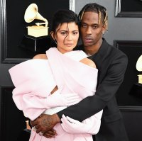 Kylie Jenner and Travis Scott at the Grammy Awards 2019 Fathers Day New Stormi Pics