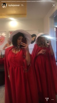 Kylie Jenner and Sofia Richie Celebrate Pal Stassi's B-Day Together at 'Handmaid's Tale' Party