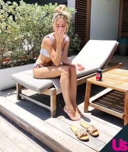 Lauren Bushnell Chris Lane's St. Barths Vacation Pics First Look