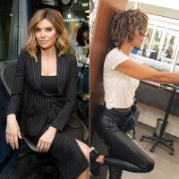 Lisa Rinna Haircut Before and After