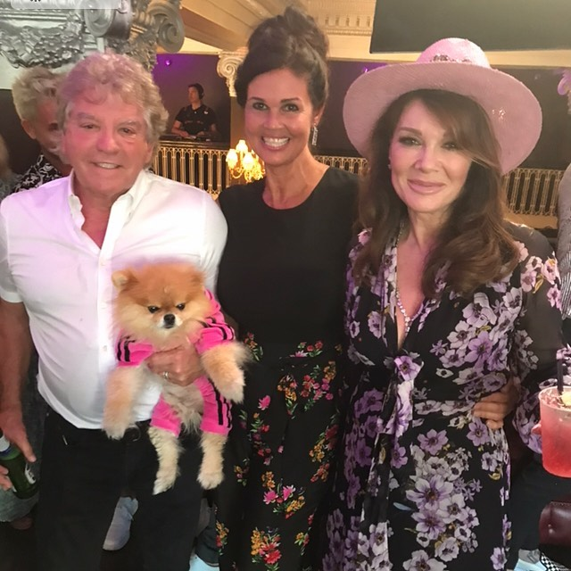 Lisa Vanderpump Makes It to Kentucky for Brittany Jax Wedding Following Sudden Death of Her Mom