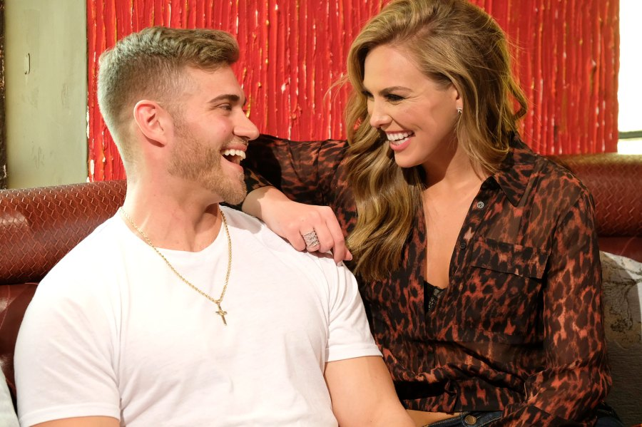 Luke Parker and Hannah Brown Laughing On The Bachelorette