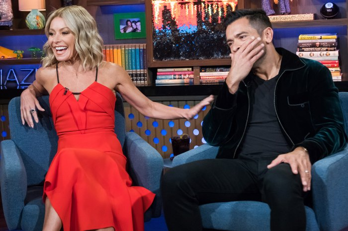 Mark Consuelos and Kelly RipaDaughter Lola Walking in on Them Having Sex
