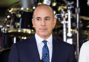 Matt Lauer Erased Today 25th Anniversary Celebration Sexual Misconduct Allegations