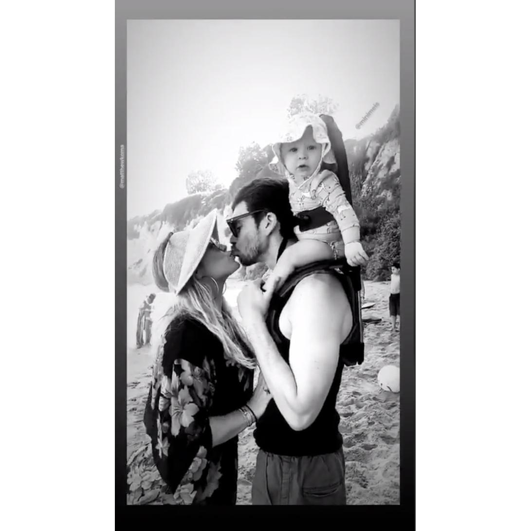 Matthew-Koma-Hilary-Duff-kiss-instagram-story