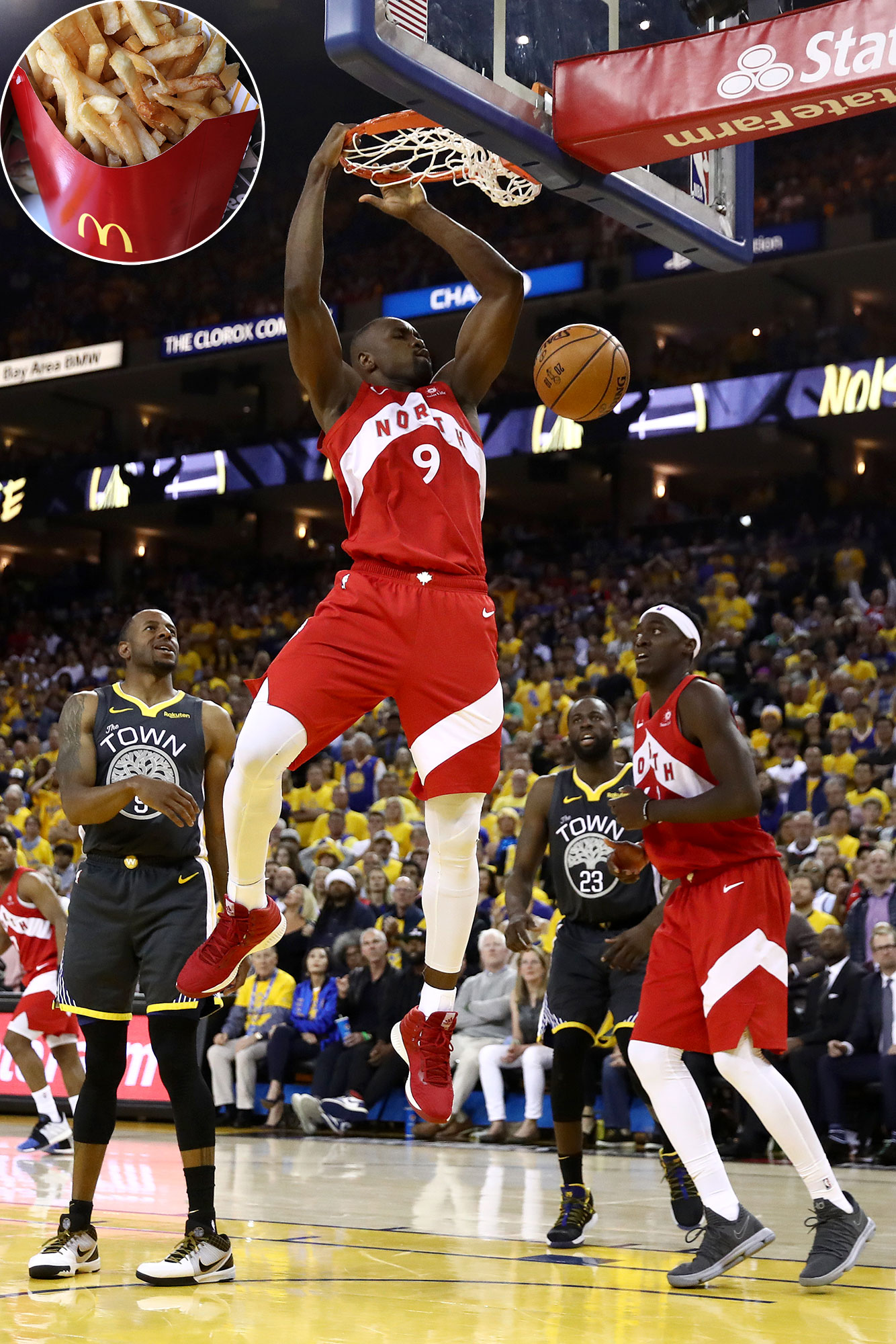 premium selection 888da 13ebb Toronto Raptors Skills Cost McDonald's $5.8 Million in Free ...