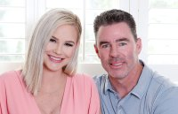 Meghan King Edmonds and Husband Jim Hold Son Hart at the Hospital Amid Cheating Scandal-main