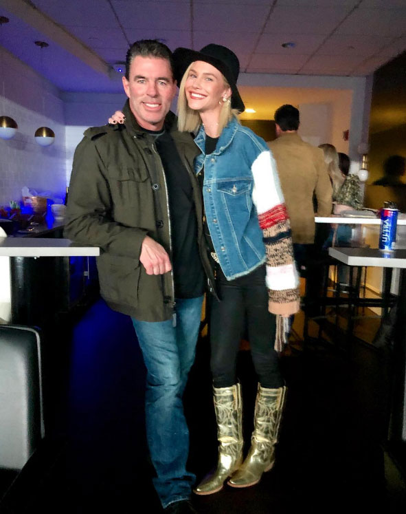 Meghan King Edmonds and Husband Jim Edmonds Of The Milwaukee Brewers Blue Jacket Cheating Allegations