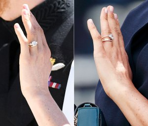 Meghan Markle Engagement Rings Comparison
