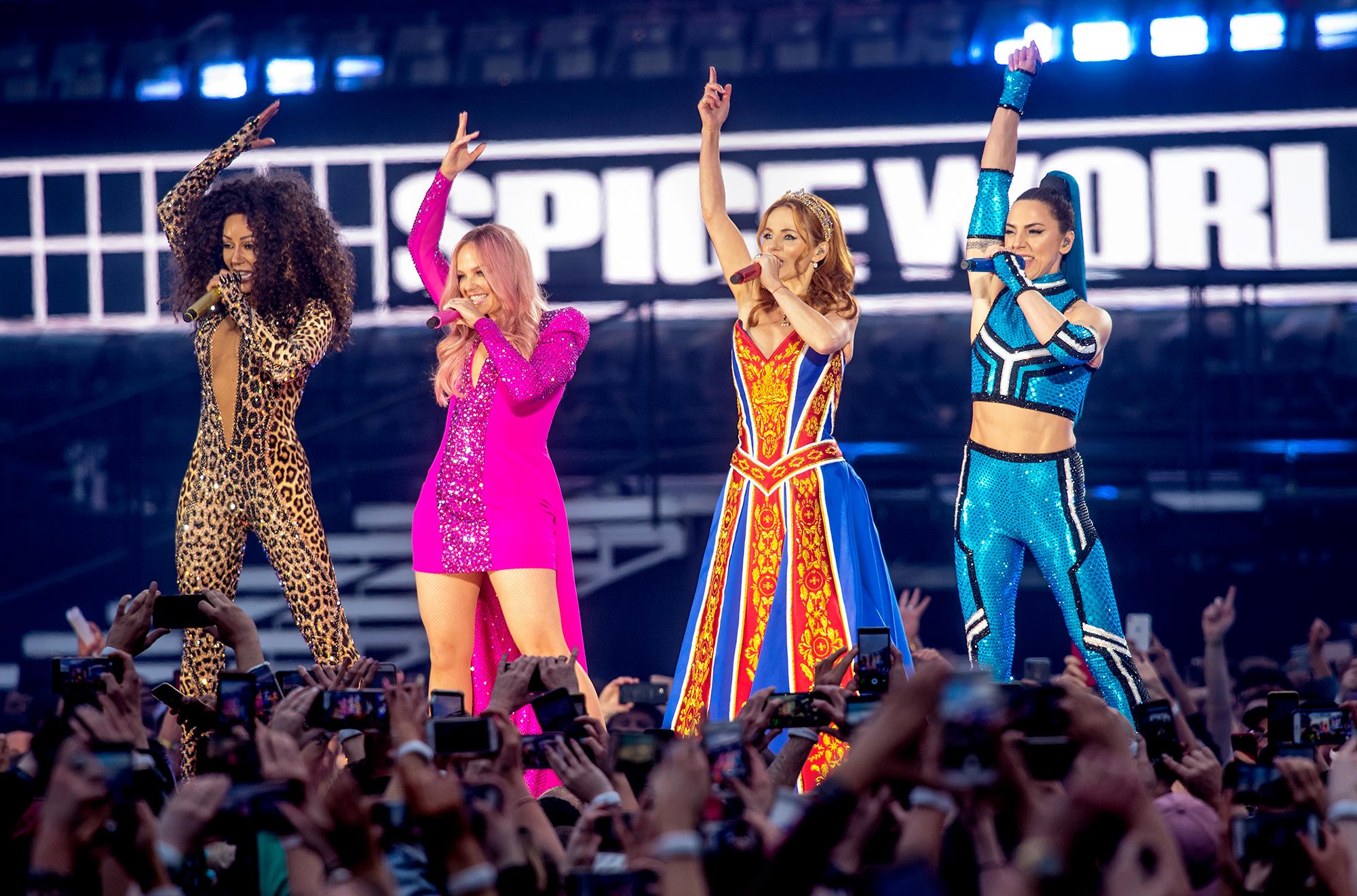 Mel-B,-Emma-Bunton,-Geri-Halliwell-and-Melanie-C-Spice-Girls-Reunion-Tour