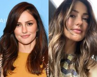 Minka Kelly Haircut Before and After June 18