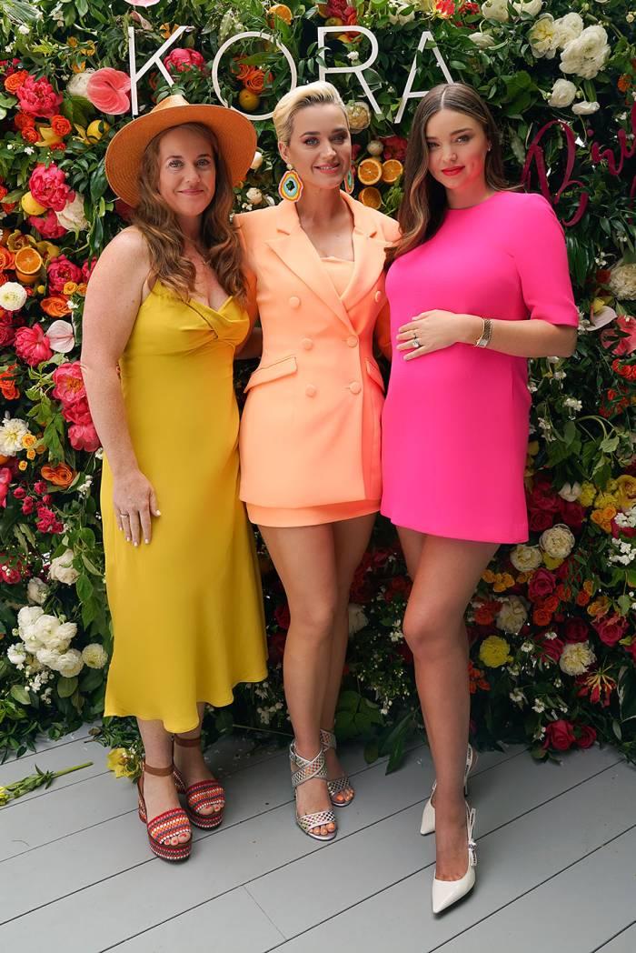 Miranda Kerr and Katy Perry KORA Organics