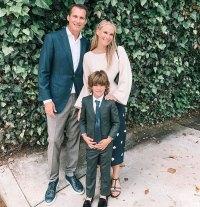 Molly Sims Son Brooks Alan Stuber Celeb Kids Graduating