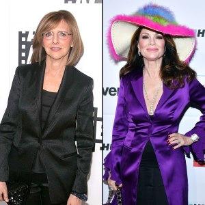 Nancy Meyers Wouldn't Know Lisa Vanderpump In A Crowd Wide Rainbow Hat