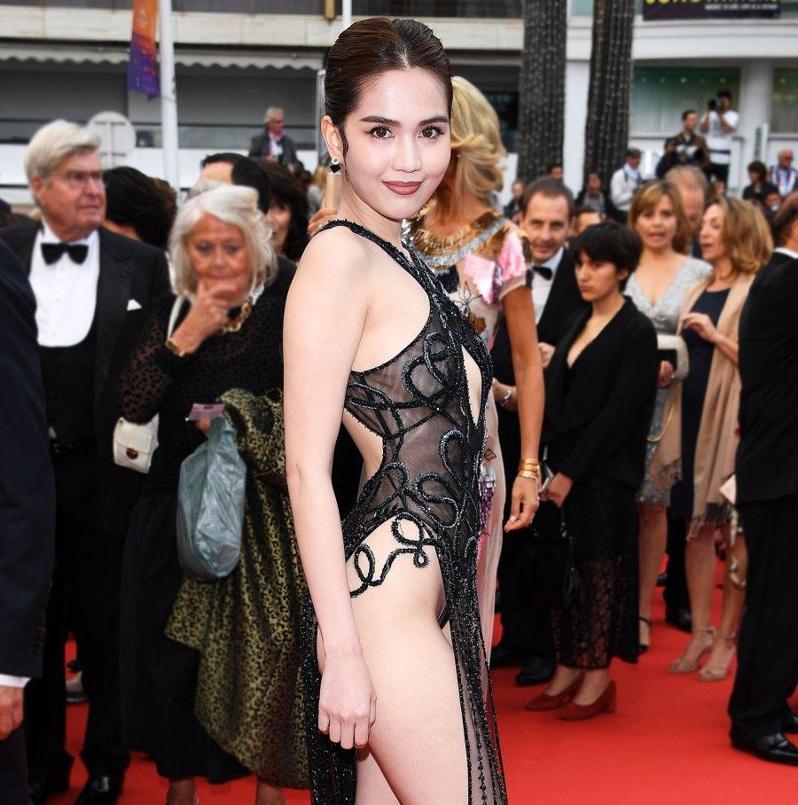 b9cbdc1dc648b Vietnamese Model Ngoc Trinh Faces Fine for Sheer Cannes Dress