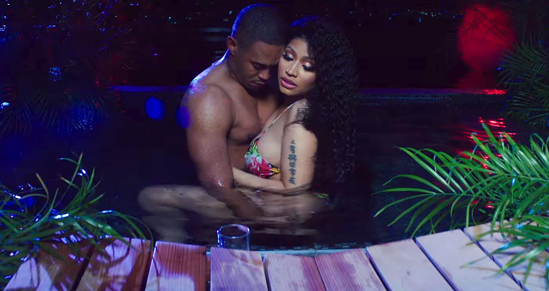 c4da2d1dd448a Nicki Minaj Dances for Boyfriend Kenneth Petty in 'Megatron' Music Video