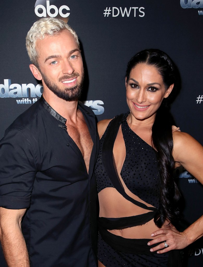 Nikki, Brie Bella Thought Artem Chigvintsev Was Going to ...