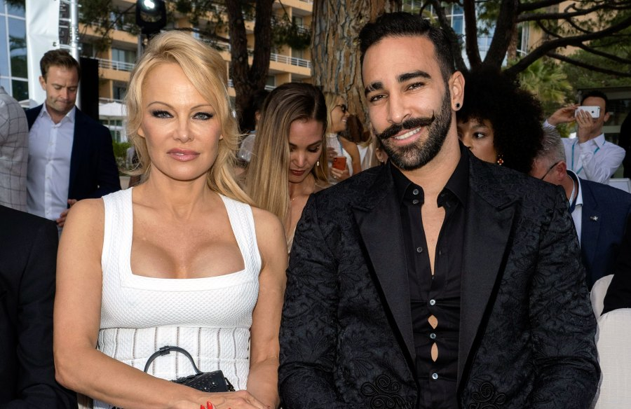 Pamela Anderson's Ex-Boyfriend Adil Rami Denies Her Abuse Allegations