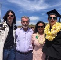Paris-Brosnan graduation